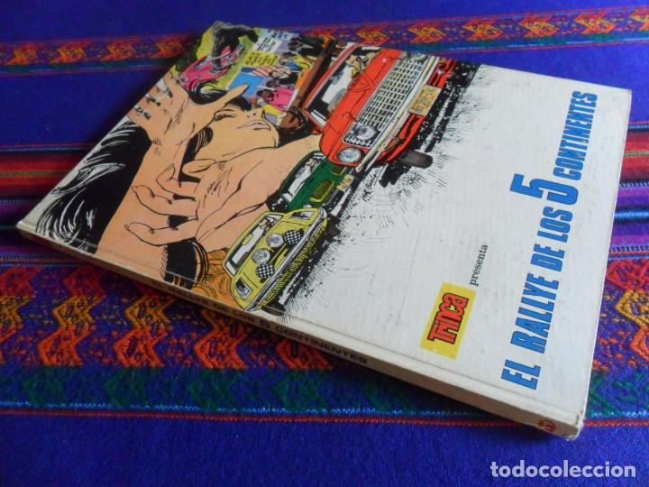COLECCIÓN TRINCA Nº 11, EL RALLYE DE LOS 5 CONTINENTES. DONCEL 1970. (Tebeos y Comics - Comics otras Editoriales Actuales)