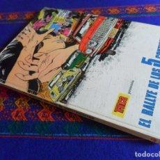 Cómics: COLECCIÓN TRINCA Nº 11, EL RALLYE DE LOS 5 CONTINENTES. DONCEL 1970.. Lote 180291163