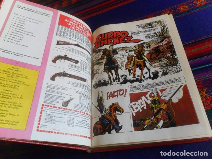 Cómics: CURRO JIMÉNEZ TOMO Nº 1 CON LOS NºS 1 2 3 4 5 6 7 8 9 10 11 12. SEDMAY 1977. CORRECTO ESTADO. RARO. - Foto 4 - 180291706