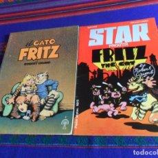 Cómics: STAR Nº 13 PRESENTA FRITZ THE CAT EJEMPLAR SECUESTRADO Y EL GATO FRITZ COLECCIÓN TUMI Nº 4. MBE.. Lote 180295393