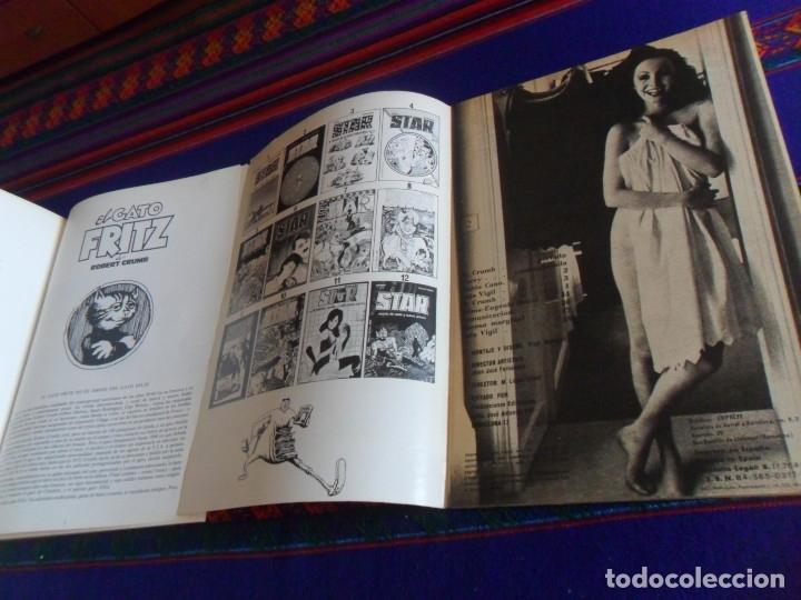 Cómics: STAR Nº 13 PRESENTA FRITZ THE CAT EJEMPLAR SECUESTRADO Y EL GATO FRITZ COLECCIÓN TUMI Nº 4. MBE. - Foto 3 - 180295393