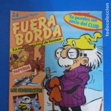 Cómics: REVISTA FUERA BORDA Nº 24 DE SARPE LOTE 28 D. Lote 180314500