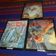 Cómics: LEYENDAS DE LOS PUEBLOS OLVIDADOS COMPLETA LA ESTACIÓN CENIZAS EL PAÍS SUEÑOS SANGRE REYES. ED. IRU.. Lote 180445116