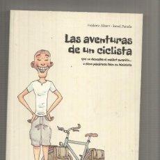 Cómics: LAS AVENTURAS DE UN CICLISTA (DEFECTO DE FABRICACION PAGINAS 1 A LA 4) EN ESQUINA QUE NO DESEABA.... Lote 180466866
