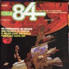 Cómics: REVISTA ZONA 84 COLECCIÓN COMPLETA 96 UDS.. Lote 180856932
