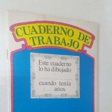 Cómics: ORBIS MONTENA: CUADERNO DE TRABAJO NUM 01 DE BARRIO SESAMO. DIBUJO PORTADA: ESPINETE Y DON PINPON. Lote 180858267