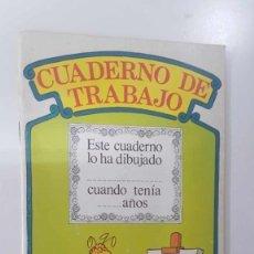 Cómics: ORBIS MONTENA: CUADERNO DE TRABAJO NUM 04 DE BARRIO SESAMO. DIBUJO PORTADA: GALLINA CAPONATA DIB.... Lote 180858282