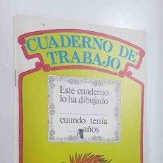 Cómics: ORBIS MONTENA: CUADERNO DE TRABAJO NUM 08 DE BARRIO SESAMO. DIBUJO PORTADA: ESPINETE. Lote 180858317