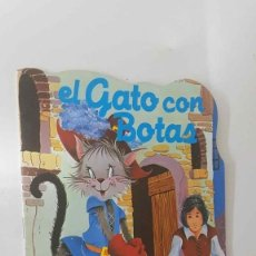 Cómics: CUENTO TROQUELADO: EL GATO CON BOTAS. COLECCION MARAVILLA NUM 2. Lote 180858363