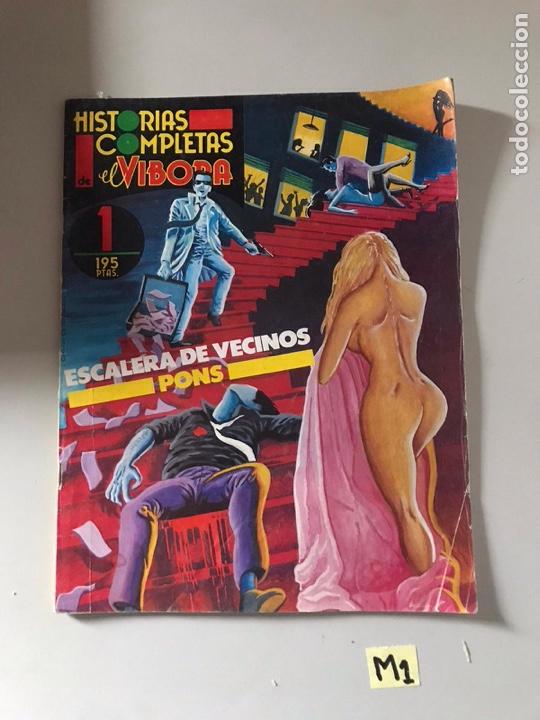 HISTORIAS COMPLETAS EL VÍBORA (Tebeos y Comics Pendientes de Clasificar)