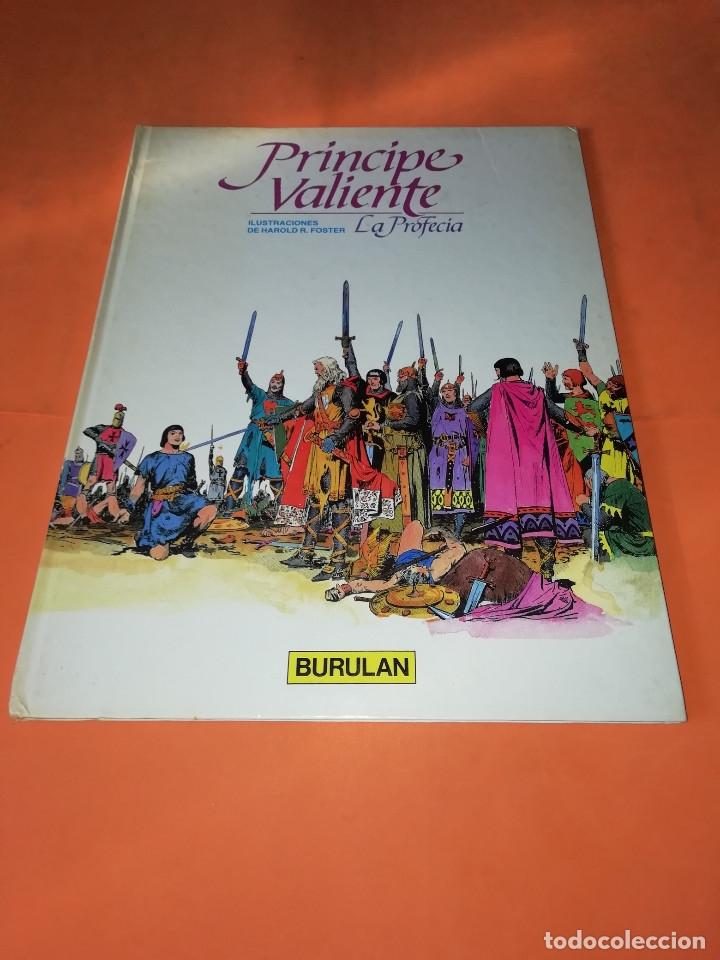 PRINCIPE VALIENTE. LA PROFECIA. BURULAN. 1983. BUEN ESTADO. (Tebeos y Comics - Buru-Lan - Principe Valiente)