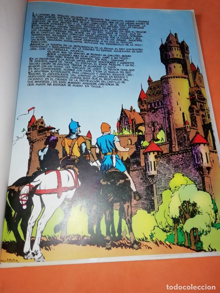 Cómics: PRINCIPE VALIENTE. LA PROFECIA. BURULAN. 1983. BUEN ESTADO. - Foto 6 - 181002267