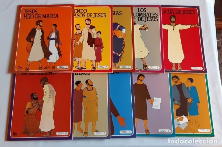 LA BIBLIA - EDICIONES SM / COLECCIÓN COMPLETA (10 ÁLBUMES) (Tebeos y Comics - Comics Colecciones y Lotes Avanzados)