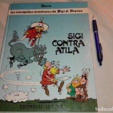 Cómics: IBARA, SIGI CONTRA ATILA, 1989. Lote 181093986