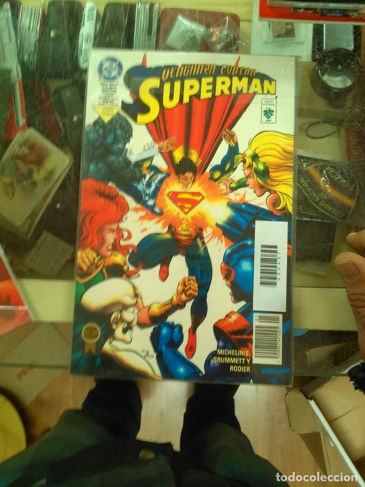 SUPERMAN: VENGANZA CONTRA SUPERMAN- TOMO GRUPO EDITORIAL VID (Tebeos y Comics - Comics otras Editoriales Actuales)