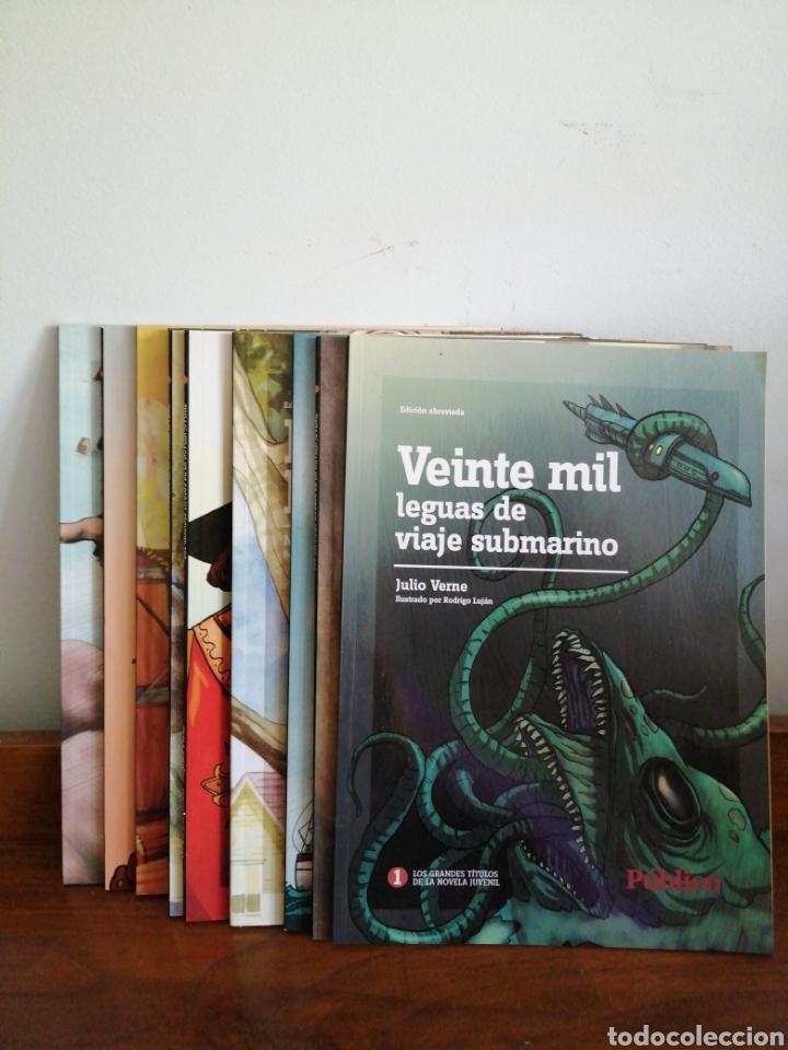 GRANDES TÍTULOS DE LA NOVELA JUVENIL (Tebeos y Comics - Comics Pequeños Lotes de Conjunto)
