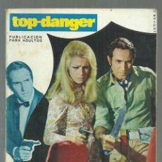 Cómics: OPERACION MEDIA LUNA. COLECCION TOP-DANGER, Nº 2 SERIE AZUL. FOTONOVELA POLICIACA. EDITORCAR, 1970. Lote 181202161