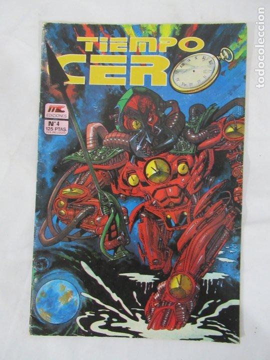 TIEMPO CERO Nº 4 MC EDICIONES (Tebeos y Comics - Comics otras Editoriales Actuales)