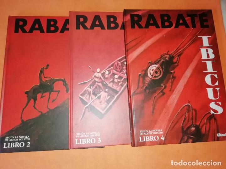 IBICUS . PASCAL RABATÉ. VOLUMENES 2,3 Y 4. SEGUN LA NOVELA DE ALEXIS TOLSTOI. GLENAT. (Tebeos y Comics - Comics otras Editoriales Actuales)