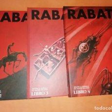 Cómics: IBICUS . PASCAL RABATÉ. VOLUMENES 2,3 Y 4. SEGUN LA NOVELA DE ALEXIS TOLSTOI. GLENAT.. Lote 181470127