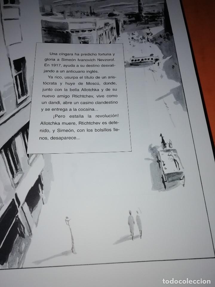 Cómics: IBICUS . PASCAL RABATÉ. VOLUMENES 2,3 Y 4. SEGUN LA NOVELA DE ALEXIS TOLSTOI. GLENAT. - Foto 6 - 181470127