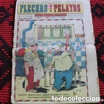 FLECHAS Y PELAYOS CUBILLO (Tebeos y Comics Pendientes de Clasificar)