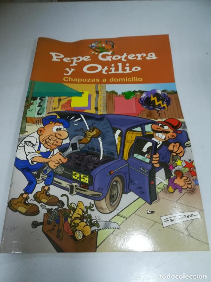 PEPE GOTERA Y OTILIO. CHAPUZAS A DOMICILIO. EDICIONES B. F.IBAÑEZ (Tebeos y Comics - Comics otras Editoriales Actuales)