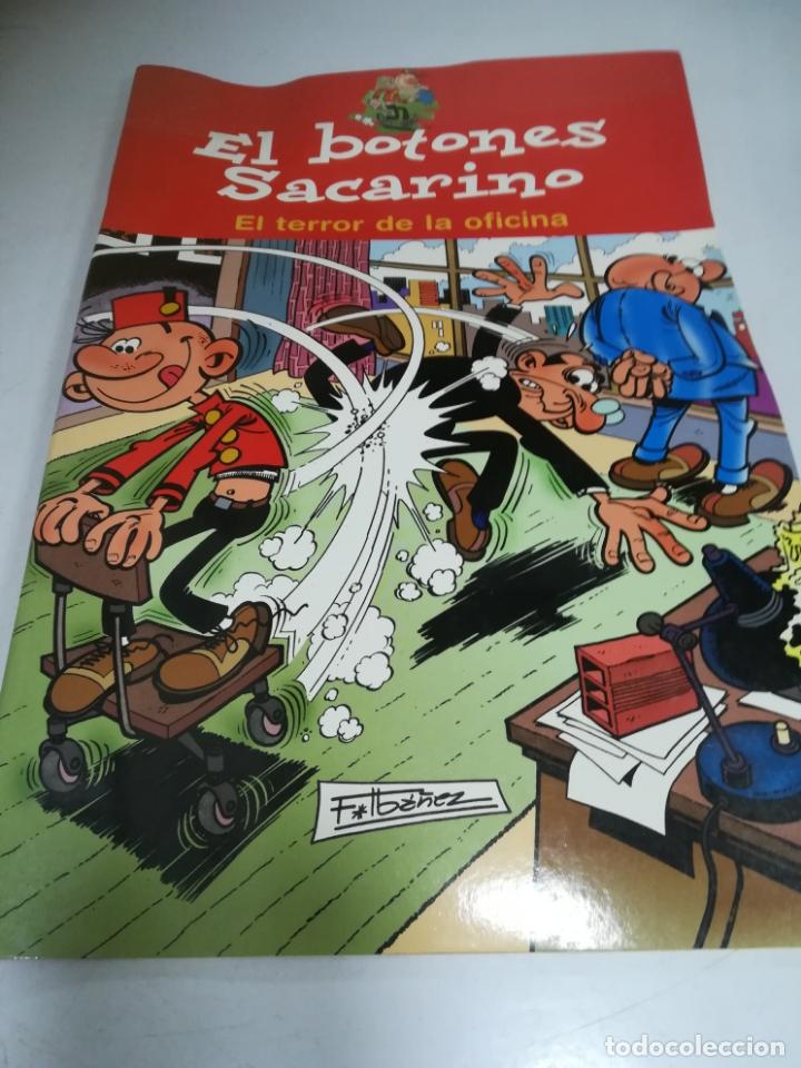 EL BOTONES SACARINO. EL TERROR DE LA OFICINA. EDICIONES B. F.IBAÑEZ (Tebeos y Comics - Comics otras Editoriales Actuales)