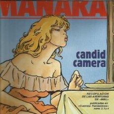 Cómics: CANDID CAMERA MANARA. Lote 181557667