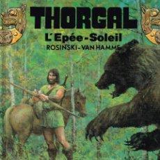 Cómics: THORGAL.LEPÉESOLEIL.ROSINSKI-VAN HAMME.ORIGINAL FRANCÉS.(PROCEDE DE BIBLIOTECA). Lote 181593520