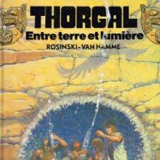 Cómics: THORGALENTRE LA TERRE ET LA LUMIÈRE..ROSINSKI-VAN HAMME.ORIGINAL FRANCÉS.(PROCEDE DE BIBLIOTECA). Lote 181593641