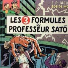 Cómics: LES 3 FORMULES DU PROFESSEUR SATO,BLAKE AND MORTIMER.ORIGINAL FRANCÉS.(PROCEDE DE BIBLIOTECA).. Lote 181594181