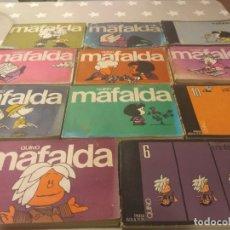 Cómics: ANTIGUA COLECCION MAFALDA DE QUINO. 11 EN TOTAL. Lote 181605992