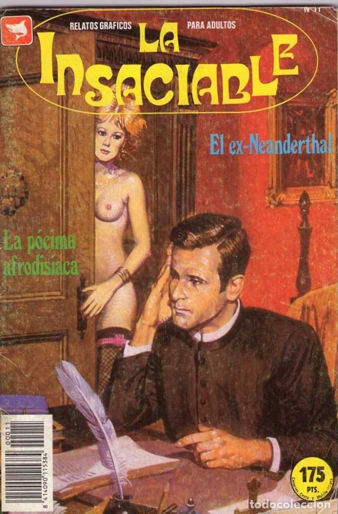 LA INSACIABLE - EDICOMIC / NÚMERO 11 (Tebeos y Comics - Comics otras Editoriales Actuales)
