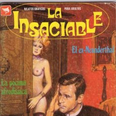 Cómics: LA INSACIABLE - EDICOMIC / NÚMERO 11. Lote 181963215