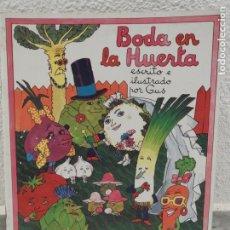 Cómics: BODA EN LA HUERTA - ESCRITO E ILUSTRADO POR GUS - PUBLICACIONES FHER. Lote 209139115