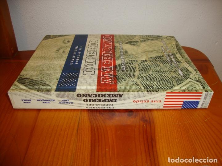 Cómics: UNA HISTORIA POPULAR DEL IMPERIO AMERICANO. UNA ADAPTACIÓN GRÁFICA - HOWARD ZINN, MIKE KONOPACKI - Foto 2 - 182032975