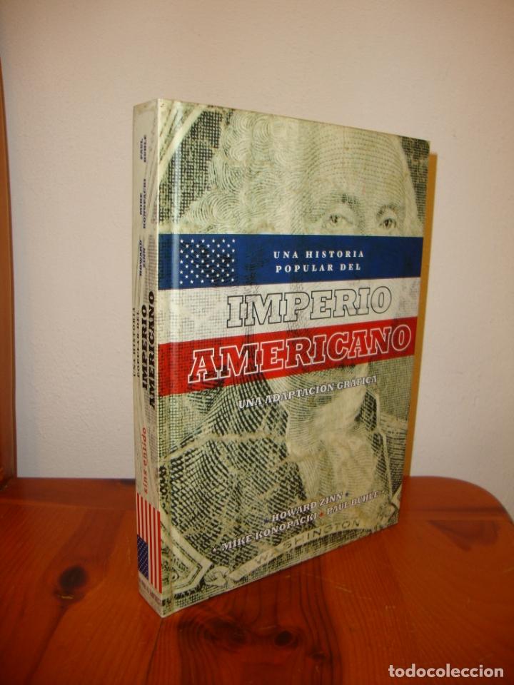 UNA HISTORIA POPULAR DEL IMPERIO AMERICANO. UNA ADAPTACIÓN GRÁFICA - HOWARD ZINN, MIKE KONOPACKI (Tebeos y Comics Pendientes de Clasificar)