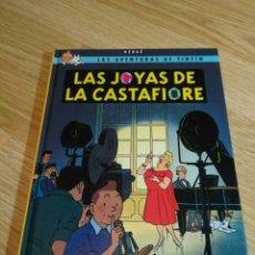Fumetti: TINTIN - LAS JOYAS DE LA CASTAFIORE - EDITORIAL CASTERMAN - PANINI 2002. Lote 182118618