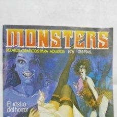 Cómics: COMICS PARA ADULTOS, MONSTERS, Nº 6. Lote 182156755