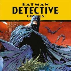 Cómics: BATMAN DETECTIVE COMICS ROSTROS SOMBRIOS - ECC BATMAN SAGA / TAPA DURA. Lote 182161312