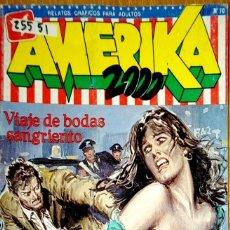 Comics : 25551 - COMIC AMERICA 2000 - VIAJE DE BODAS SANGRIENTO - Nº 10 - EDITA EDICOMIC . Lote 182359707