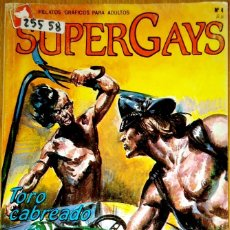Comics : 25557 - COMIC SUPER GAYS - TORO CABREADO - Nº 4 - EDITORIAL EDICOMIC. Lote 182360321