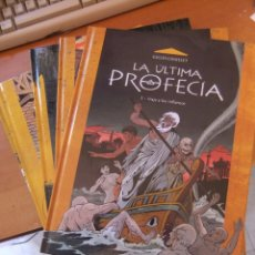 Cómics: LA ULTIMA PROFECIA CINCO TOMOS COMPLETA COEDITUM. Lote 182368665