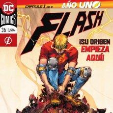 Cómics: FLASH 36 (50) - ECC DC GRAPA / AÑO UNO. Lote 182422017
