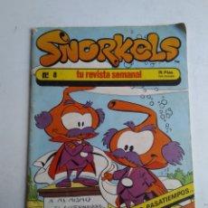 Cómics: SNORKELS N°8. Lote 182428720