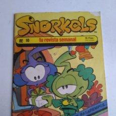 Cómics: SNORKELS N°10. Lote 182428845