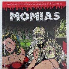 Cómics: BIBLIOTECA DE CÓMICS DE TERROR DE LOS AÑOS 50. MOMIAS - DIÁBOLO EDICIONES. Lote 182456173