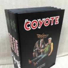 Cómics: EL COYOTE - COLECCIÓN COMPLETA EN 4 TOMOS - AGUALARGA. Lote 182461517