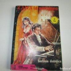 Cómics: ZARA LA VAMPIRA Nº11 ~ SINFONIA DIABOLICA ~ ELVIBERIA. Lote 182476642